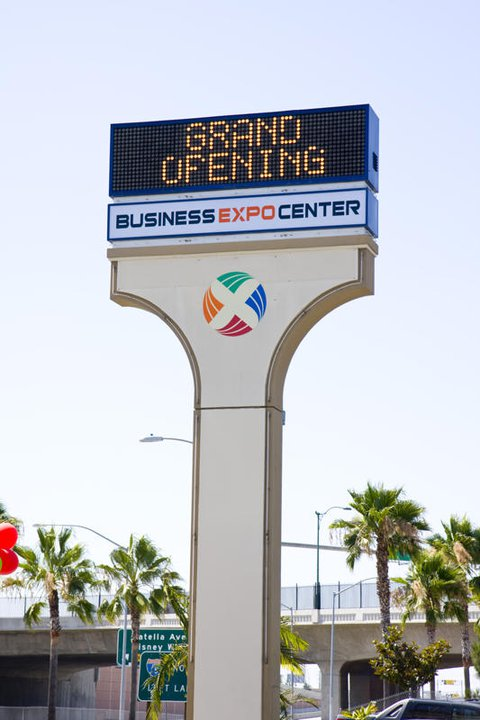Expo Center Sign